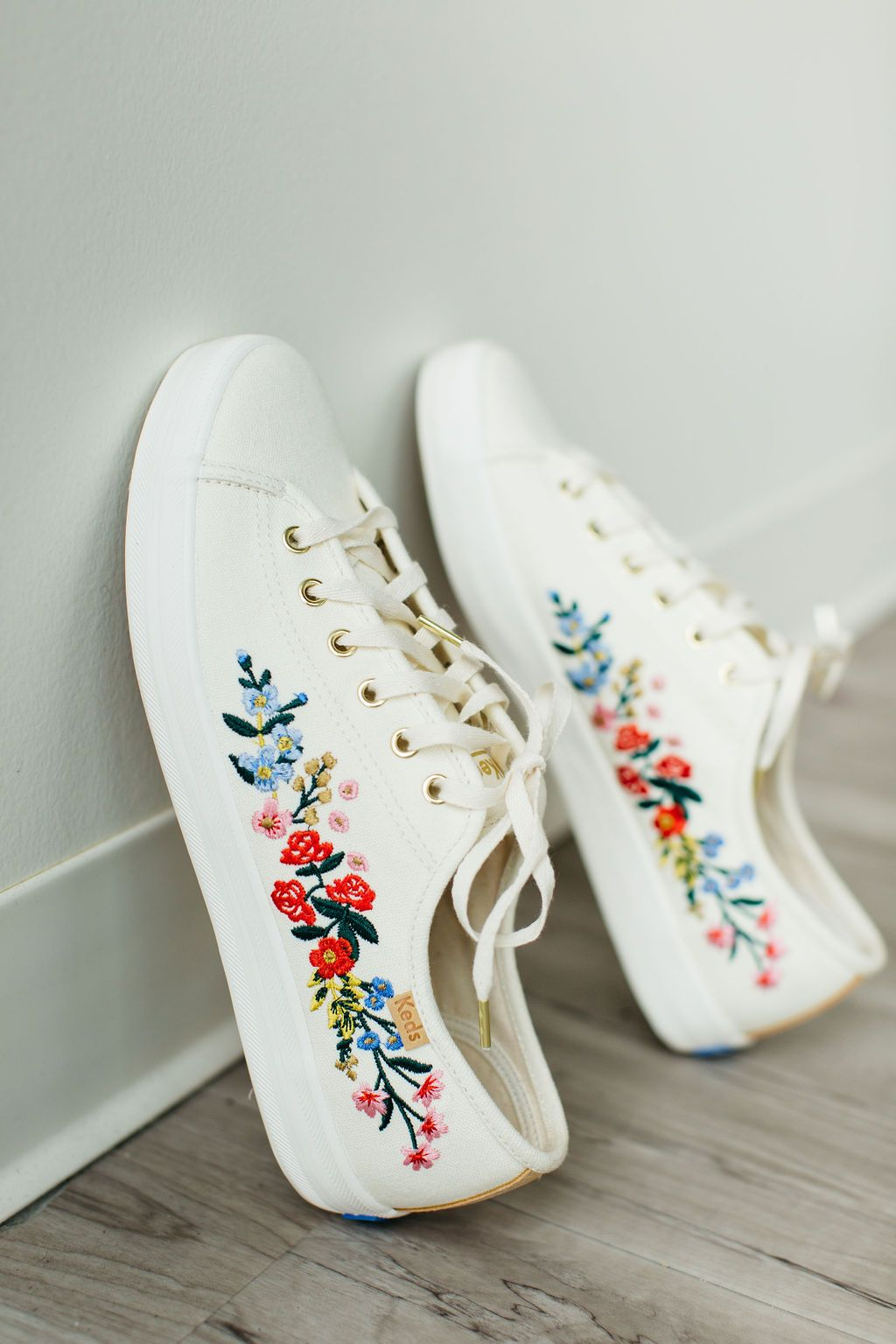 Mindy Mae's Market, embroidered keds