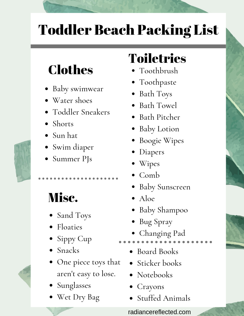 image relating to Printable Beach Packing List identify Makes it possible for View How This Goes: Packing for a Seaside Holiday vacation Radiance