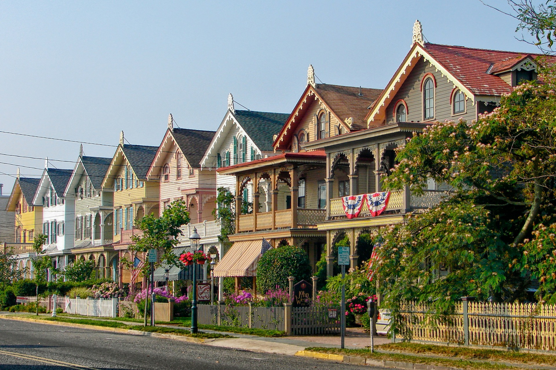 Victorian Houses in Cape May