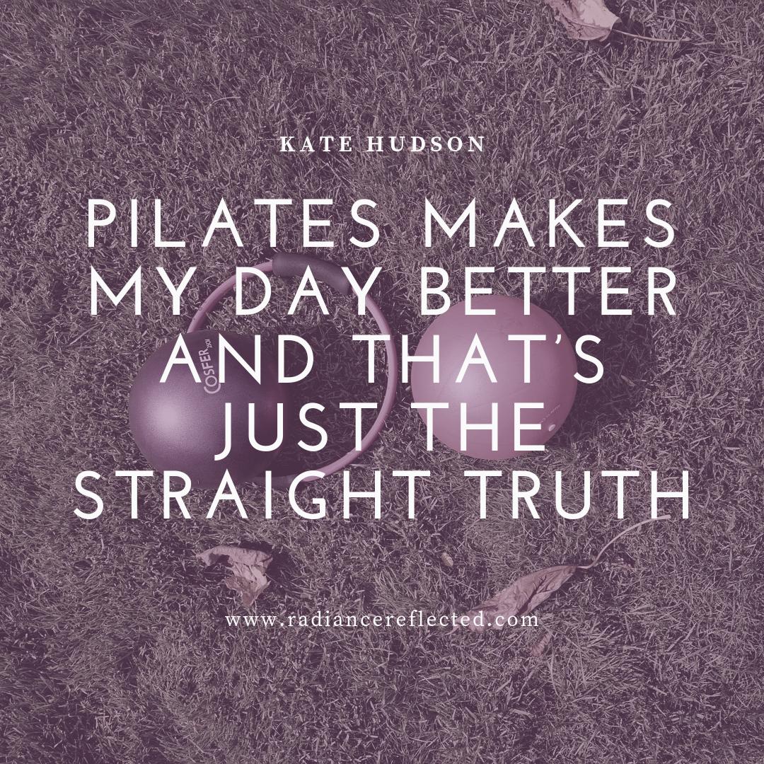 Kate Hudson, PIlates