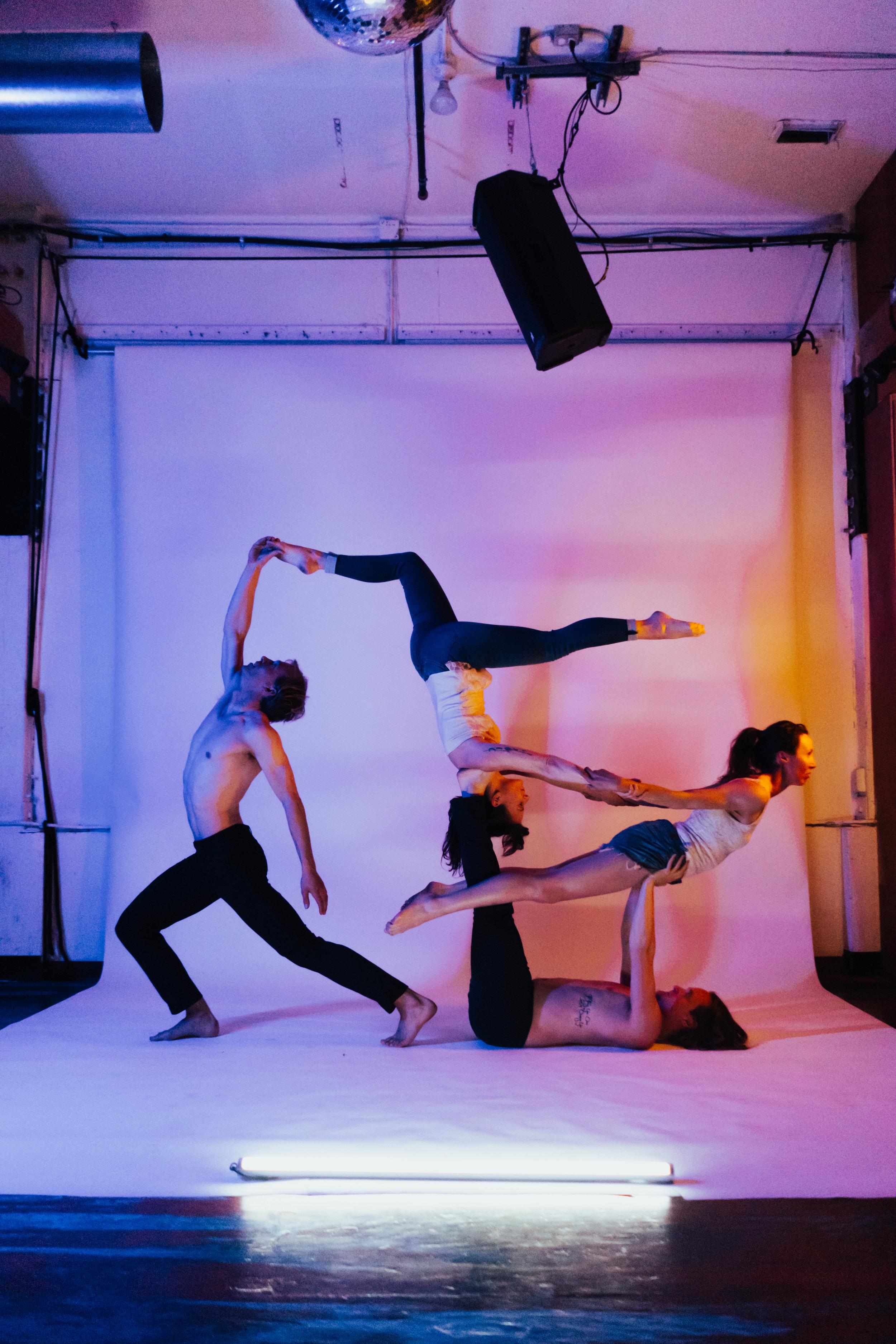 Becoming Human   Cedar Lyn, Ellie Hand, Chris Bellamy  & Connell Green