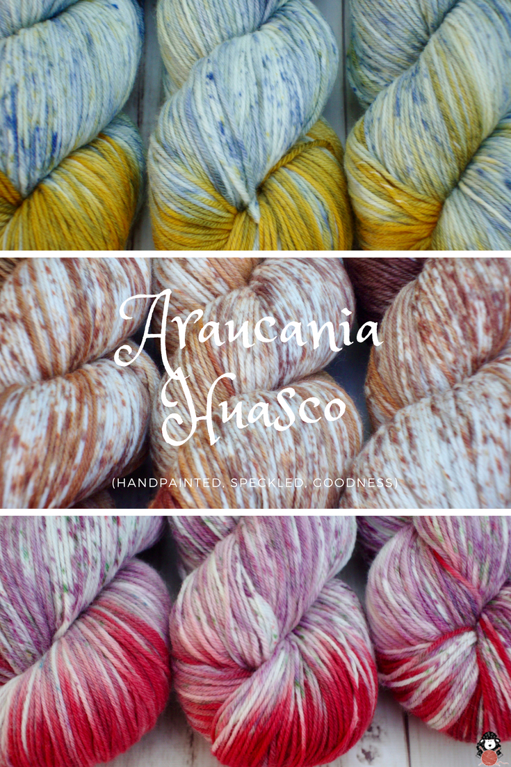 Araucania Huasco Hand Painted Speckled Sock Yarn.jpg