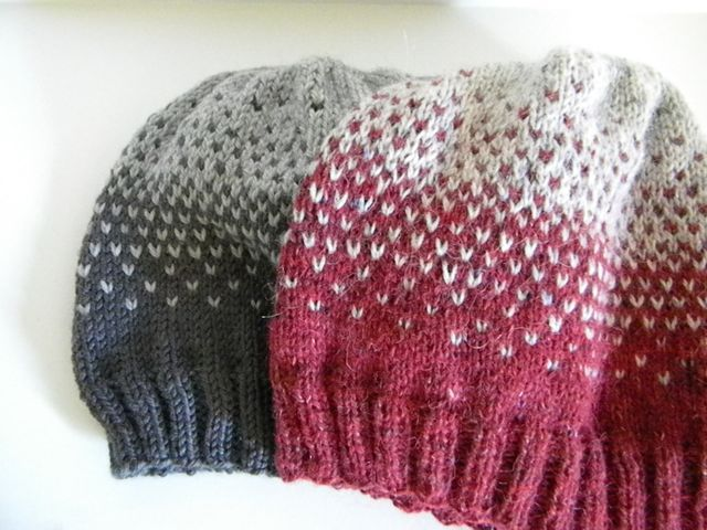 Easy Ombre Slouch Hat By Robert Neary