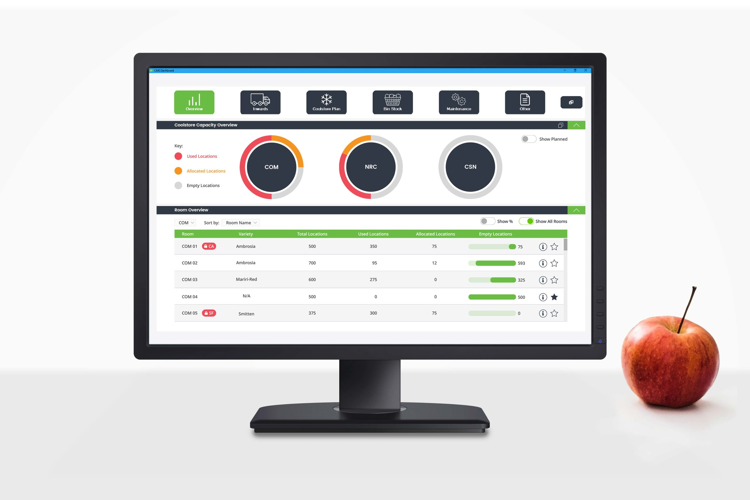 Coolstore Management System (CMS Dashboard)