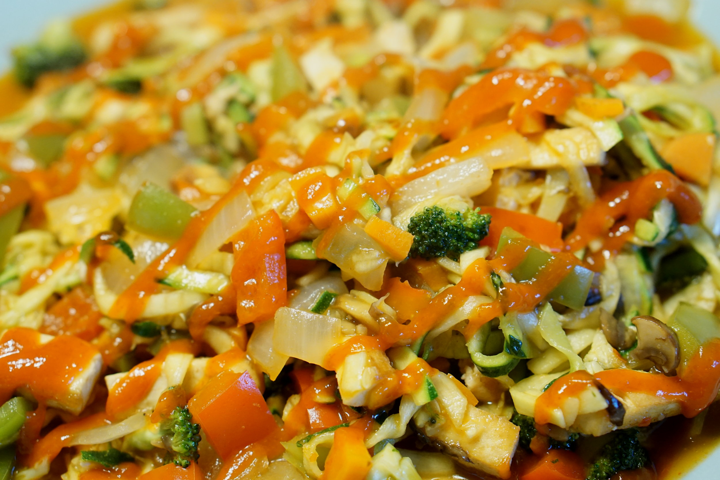 spicy zoodle recipe