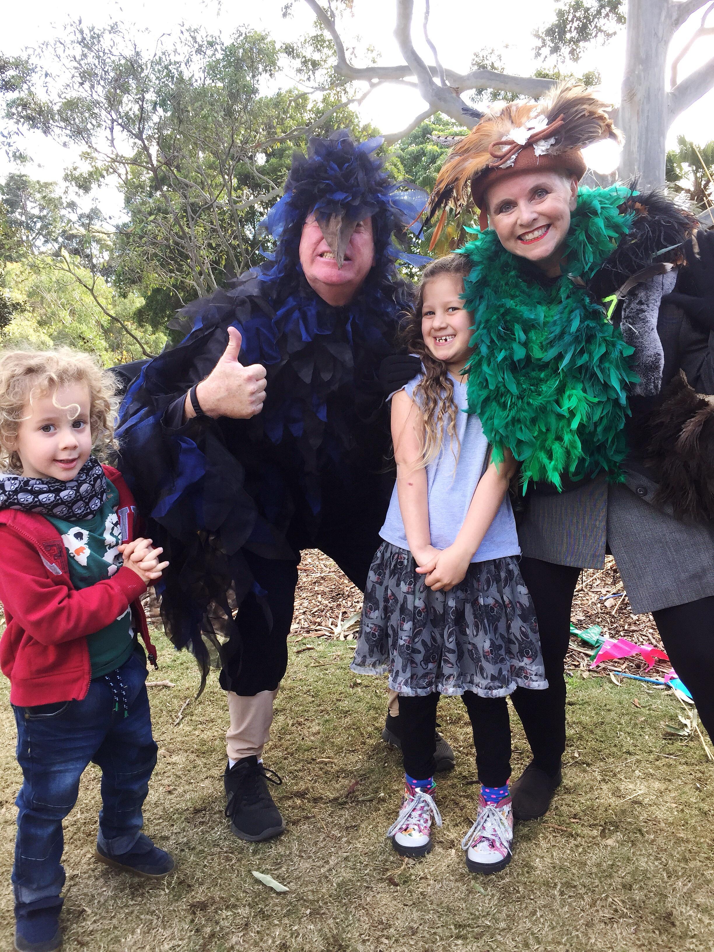 kids with actors