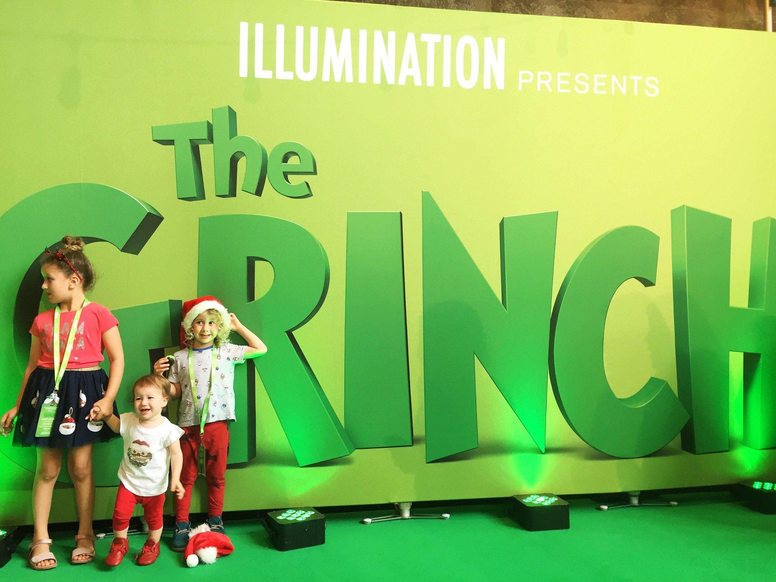 The Grinch movie premiere