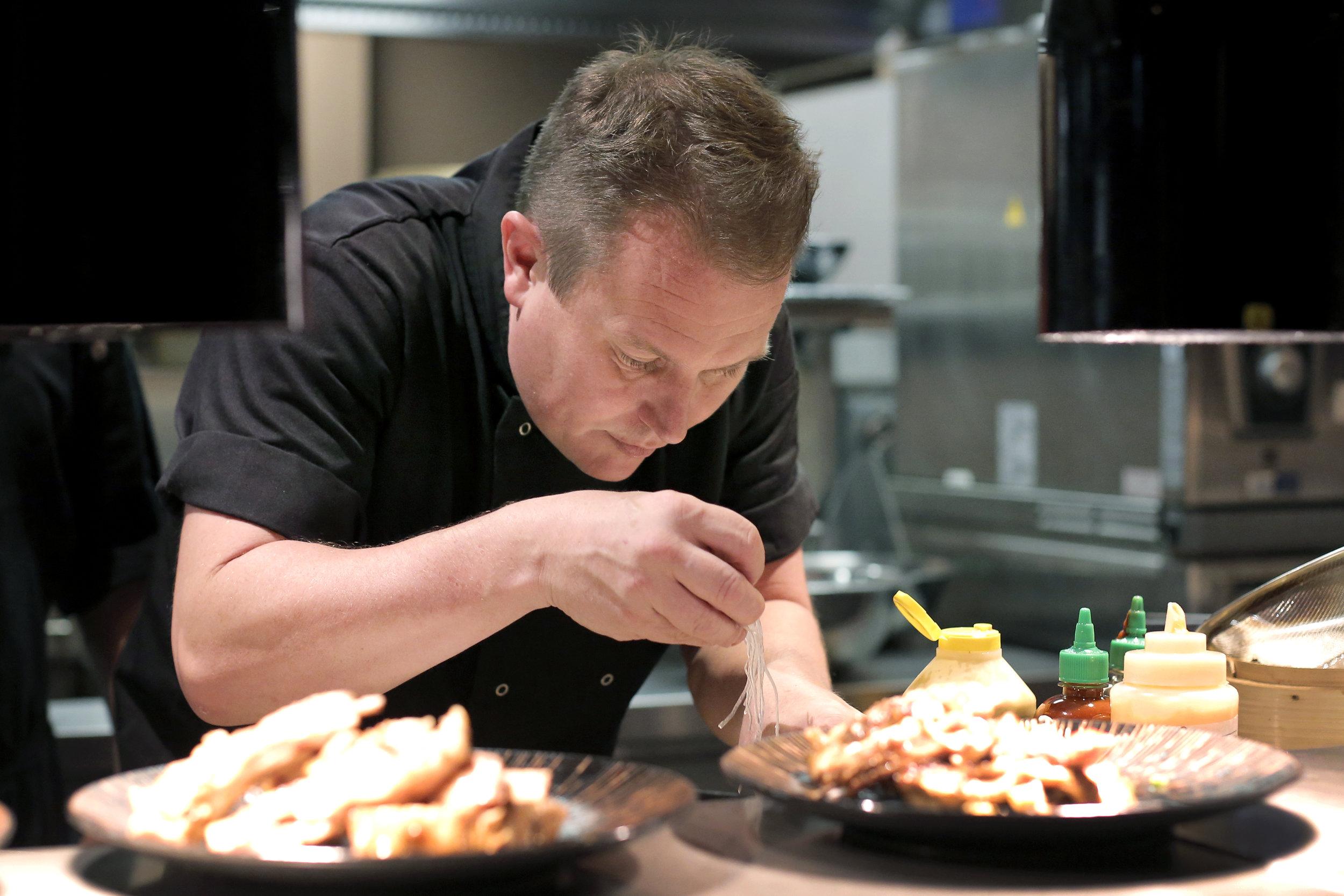 Peter Sheppard in Kitchen