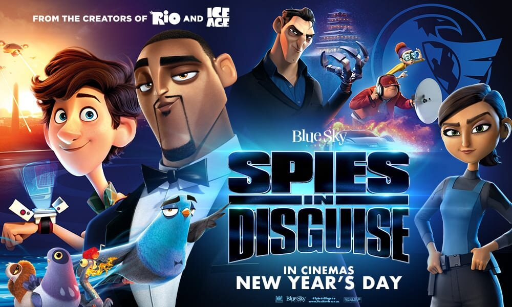 Spies in Disguise — three little hines