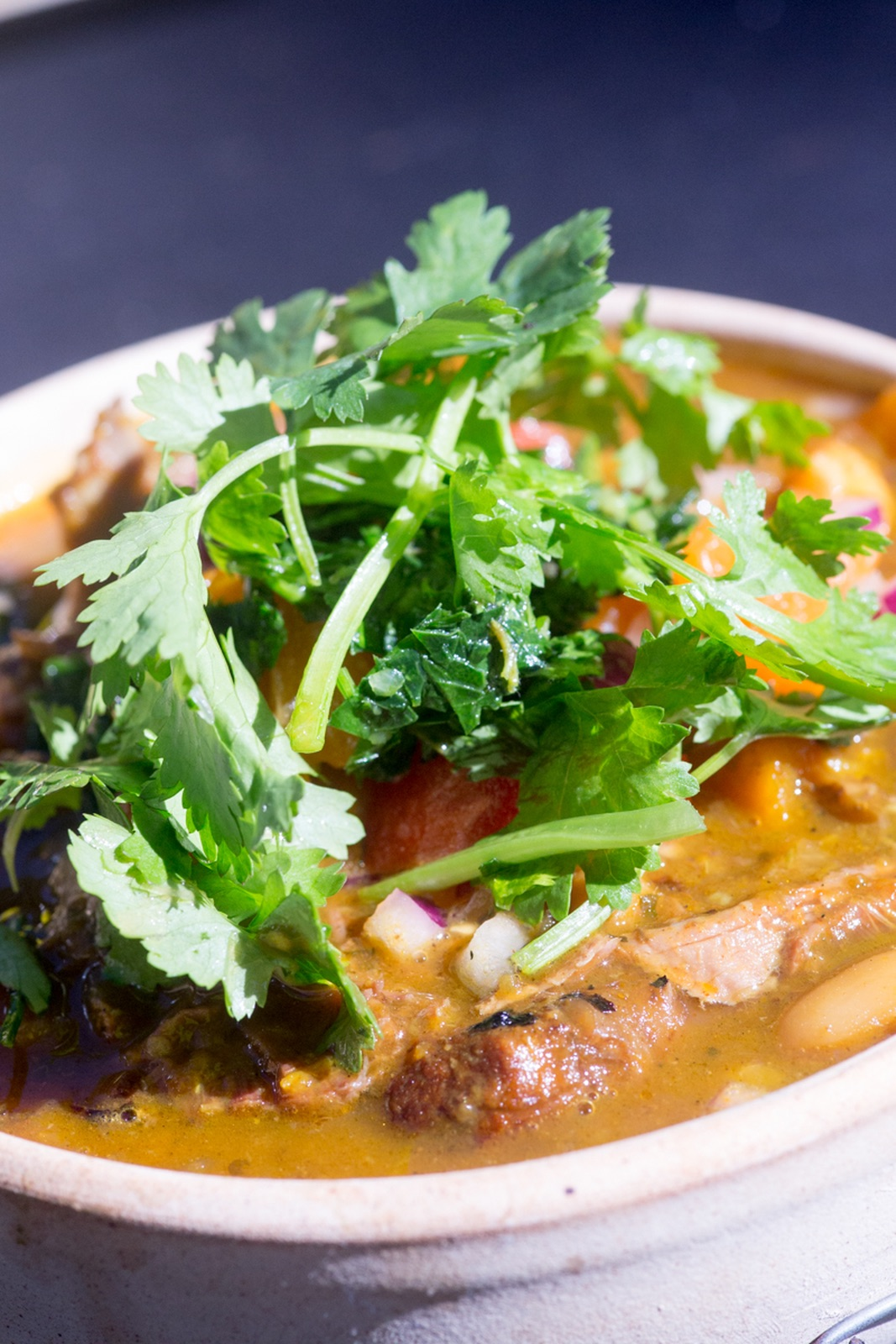 Gascoyne Mundilya Station goat curry served with rice and pappadums $28.00 - Availability: Dinner