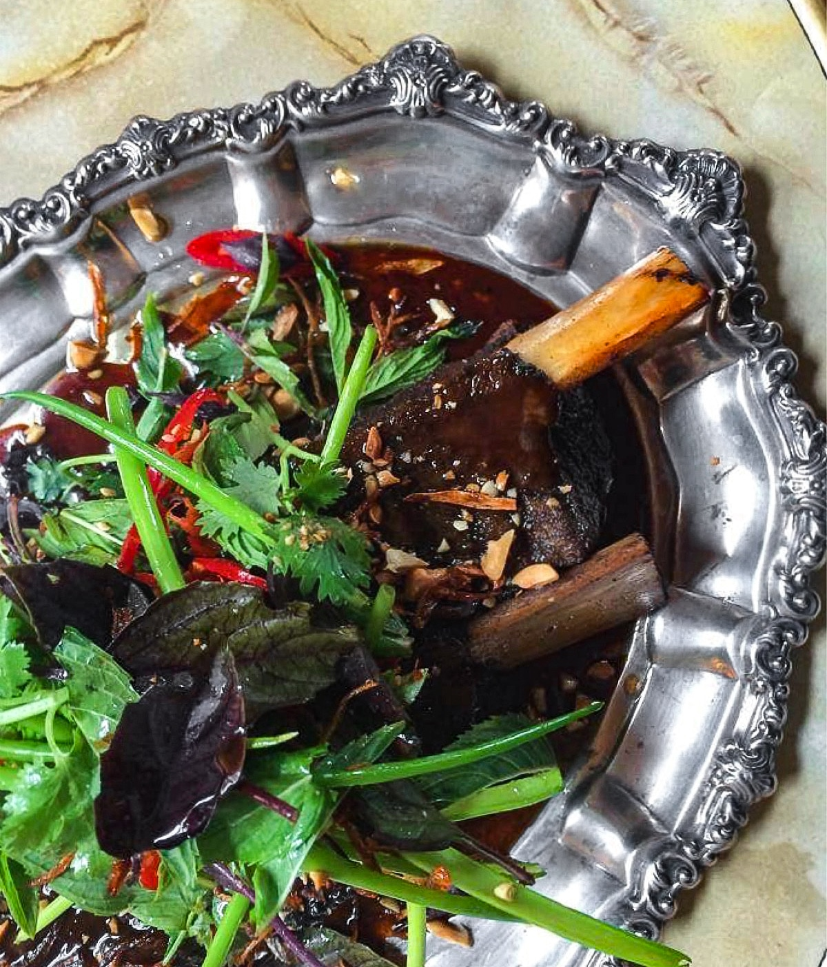 Coconut Vinegar Braised Stirling Ranges Beef Short Rib $32.00 - Availability: Lunch and Dinner
