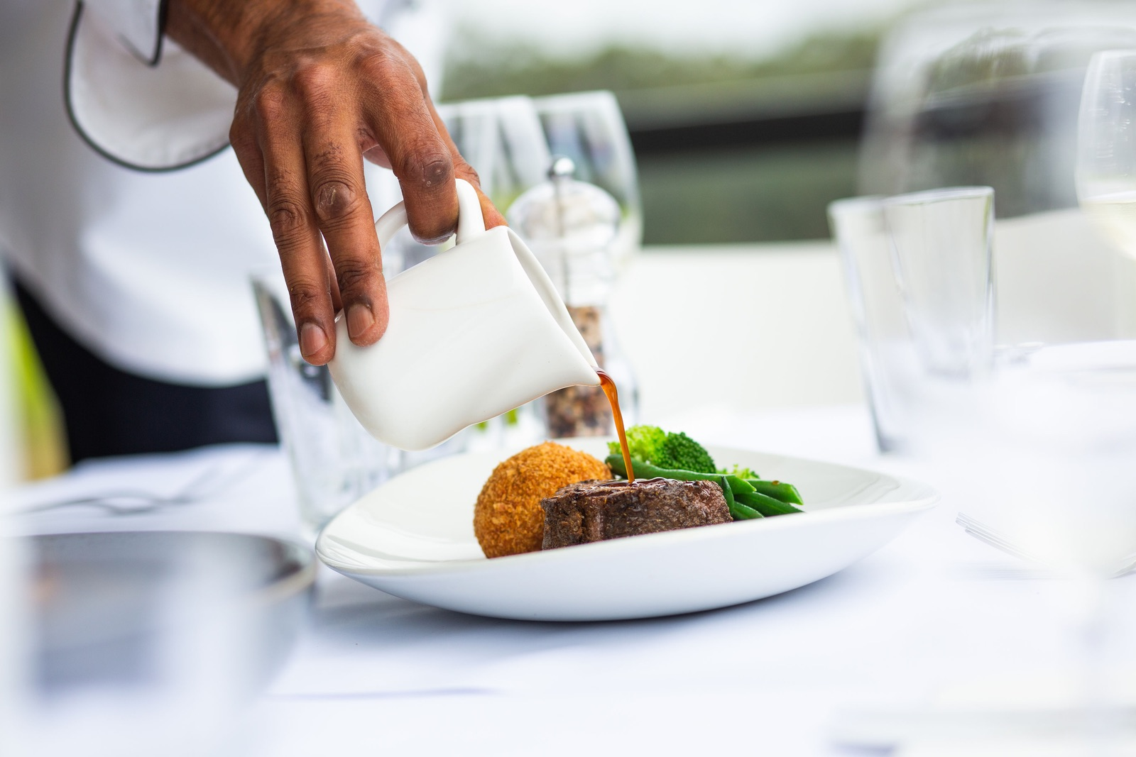 Plantagenet spice aged beef eye fillet, mushroom and black truffle croquette, seasonal vegetables, cabernet jusRecommended with Forest Hill's Estate Cabernet: Two courses for $60 or three courses for $75 - Availability: Thursday to Sunday lunch and Friday Night Dinners