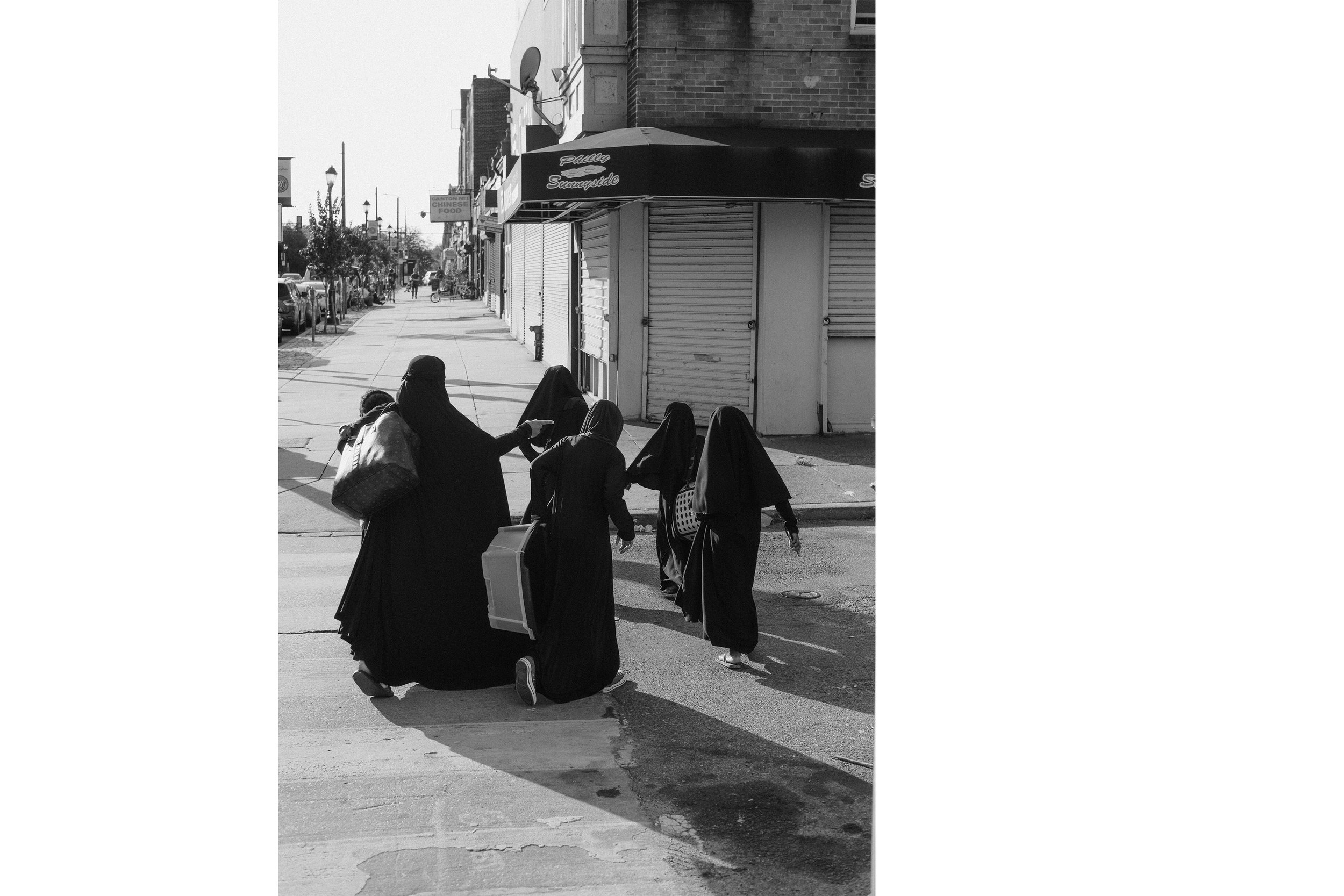 Muslim Family , Philadelphia, 2018