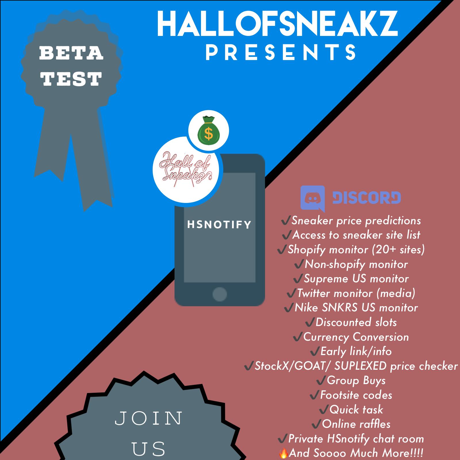 HSNotify (Beta) - 23 Day Subscription