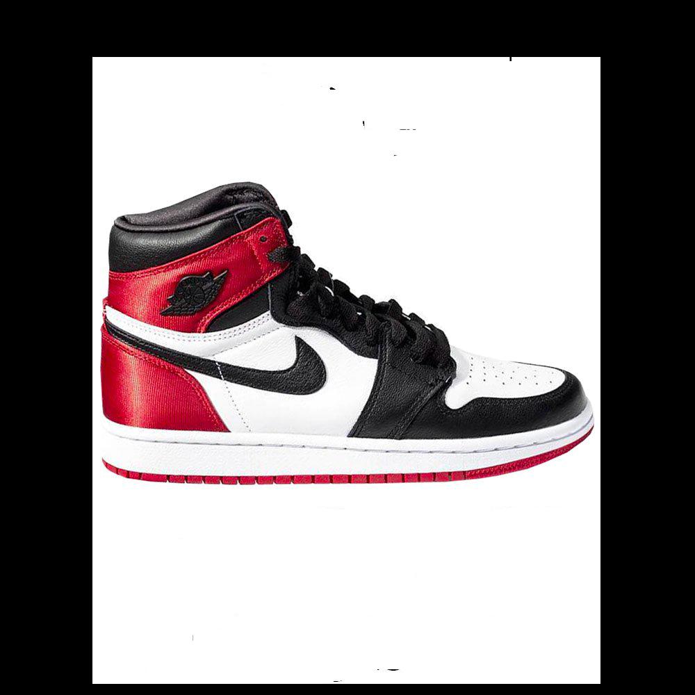 Air Jordan 1 Retro High Satin -Women- 'Black Toe'