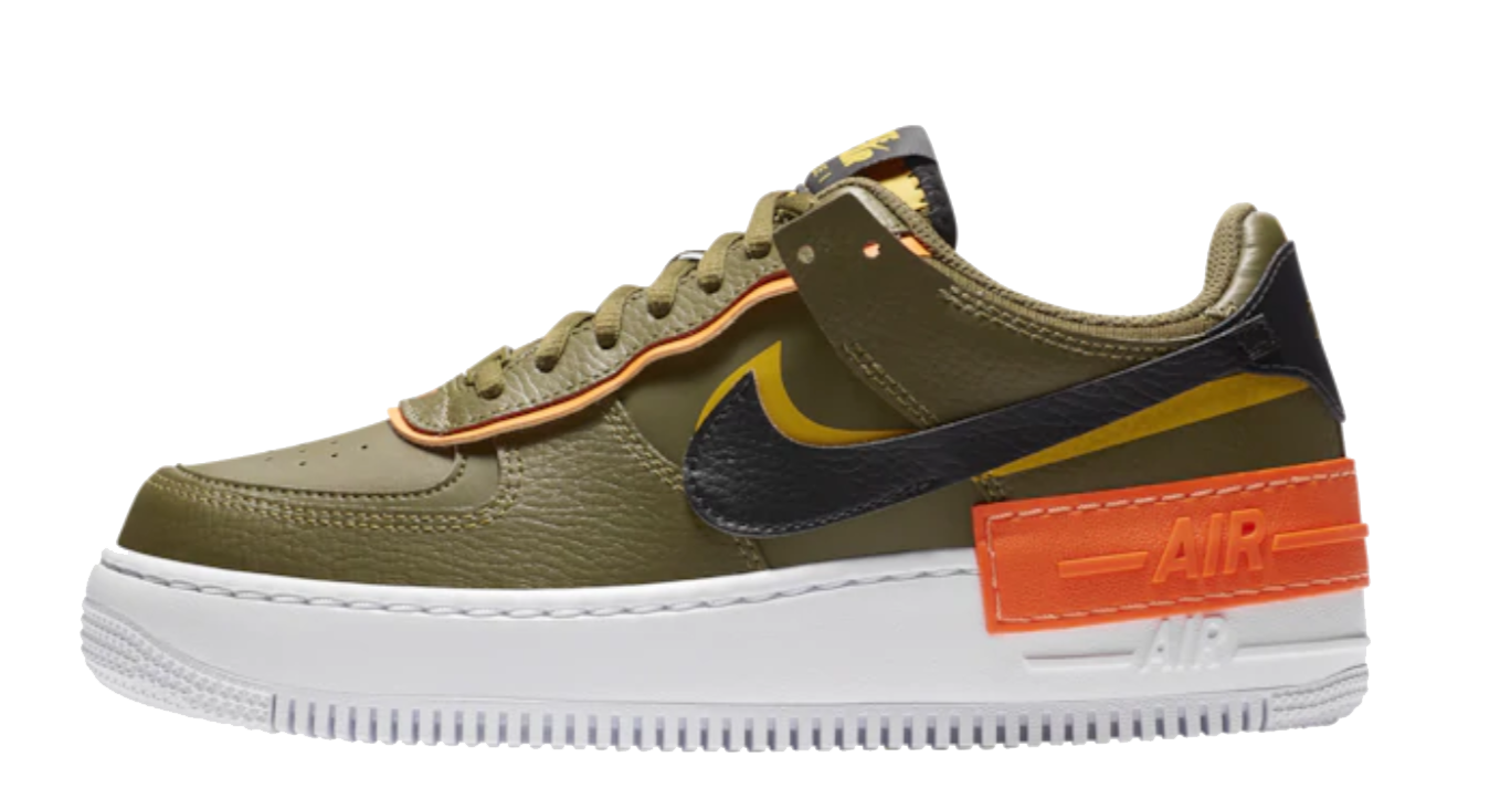 Nike Air Force One Shadow -Women- 'Olive'
