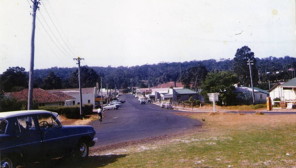Old photos of the main street in Margaret River. Image courtesy:  Margaret River Mail