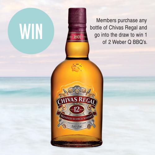 Chivas Regal 12YO Scotch Whisky $44.99 700ml