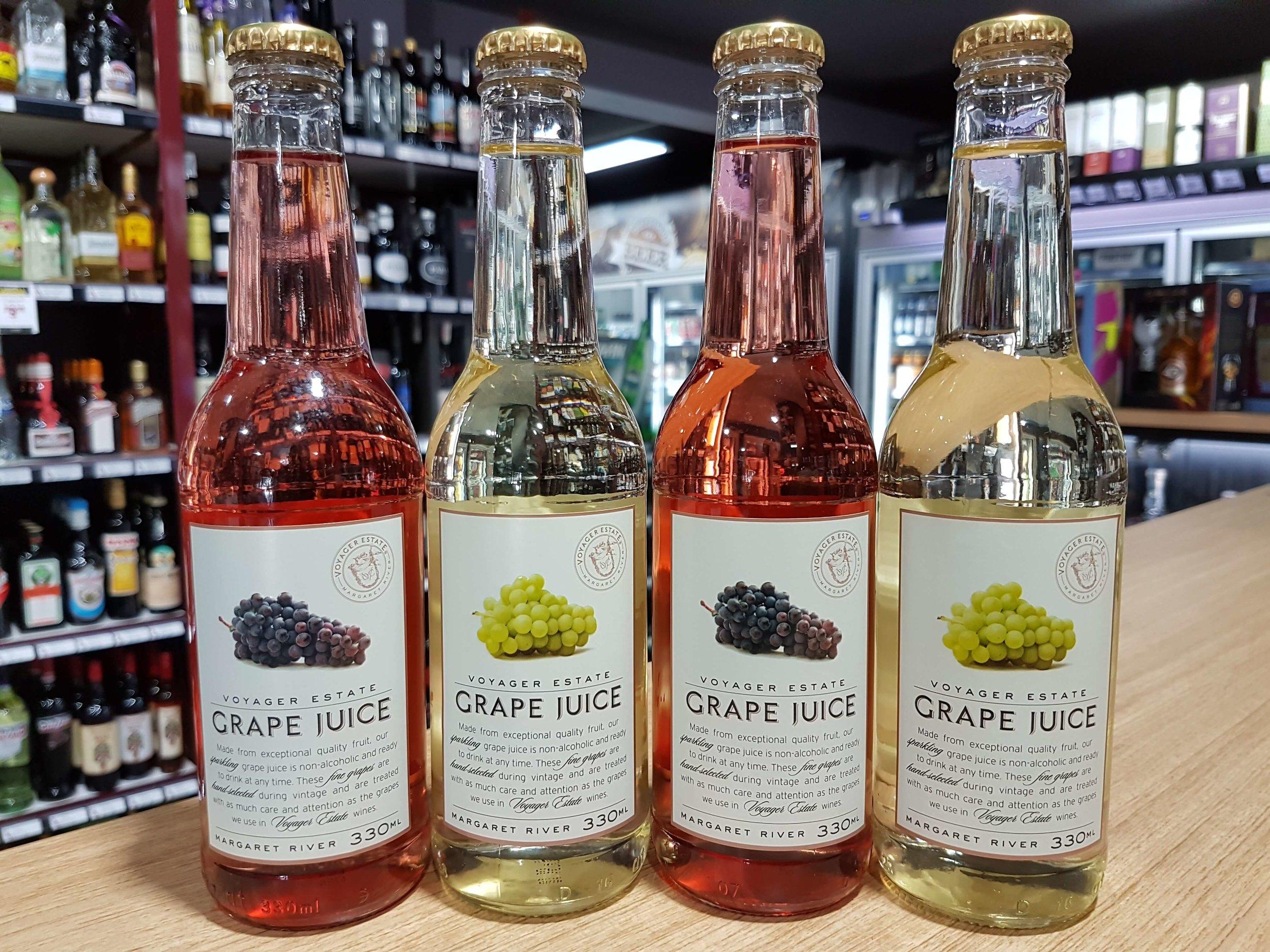 Voyager Estate Non Alcoholic Red & White Grape Juice