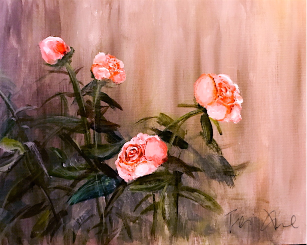 Peony in the Yard - (Fei Xue).png