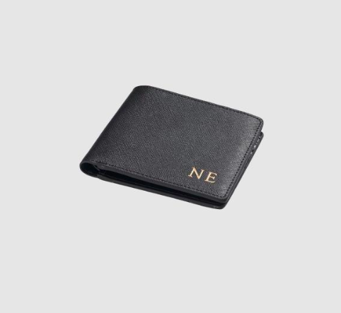 A MONOGRAMMED WALLET (for the bougie lover in your life)