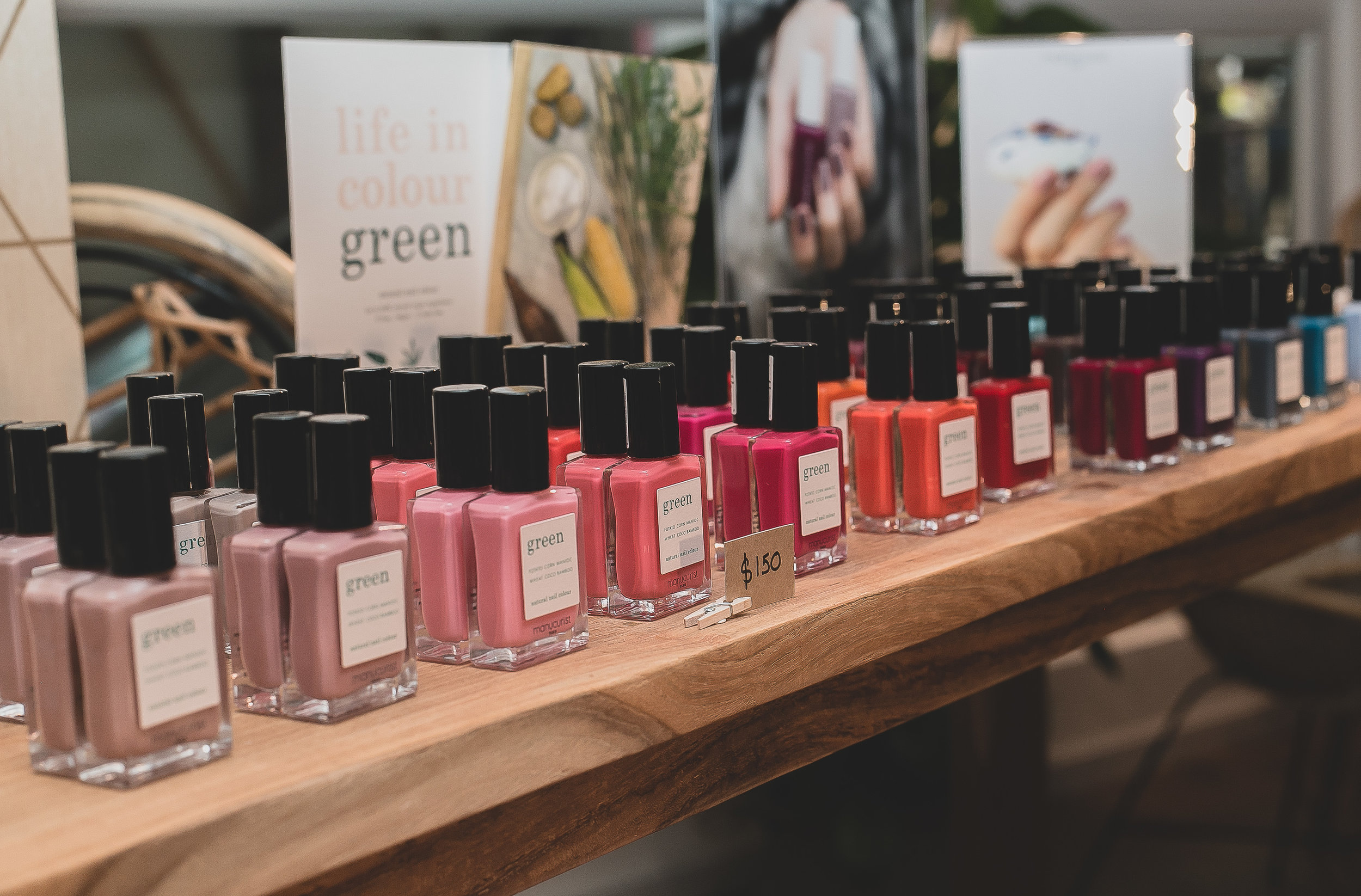 "DISCOVER MANUCURIST  - ""Green"" from Manucurist Paris9 toxins free nail polish, Vegan, Cruelty Free"