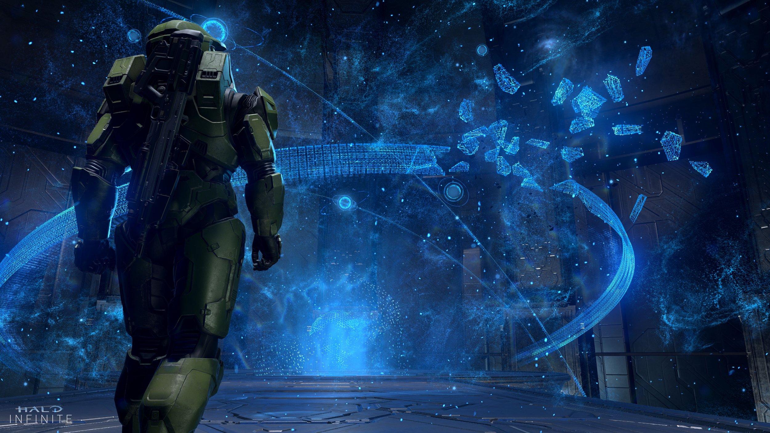 Halo Infinite Screenshot Hologram Explosion