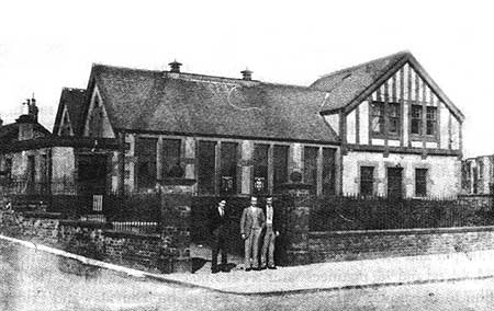 The Dean Tavern (built in 1910)
