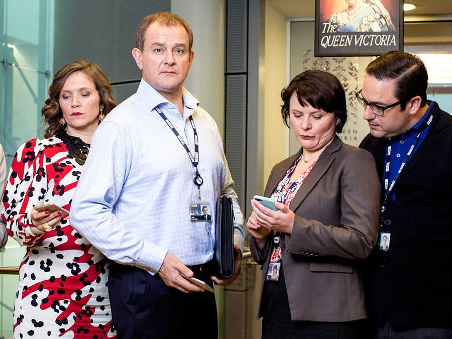 W1A Series 3   The final series of BBC's W1A featured excellent characters such as a cross-dressing Premier League footballer and a parody of a hipster creative agency. Aired Autumn 2017.