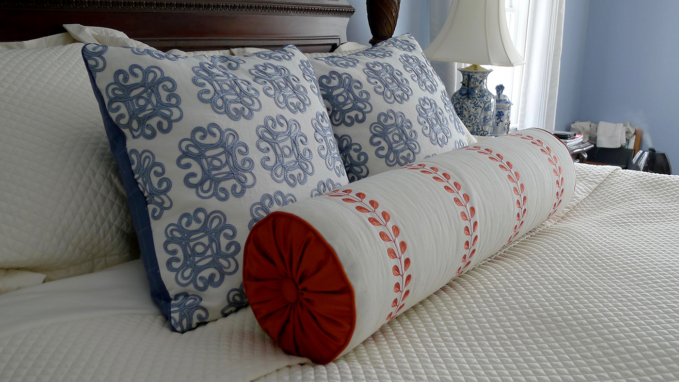 accent pillows complete the look of any room. -