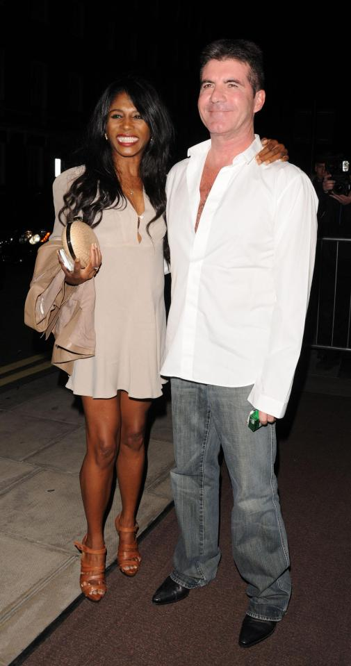 Sinitta and Simon used to date back in the early 1980s