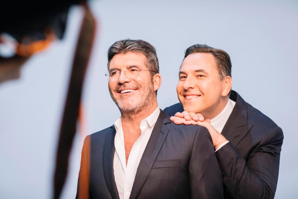 David and Simon have a fun relationship on Britain's Got Talent