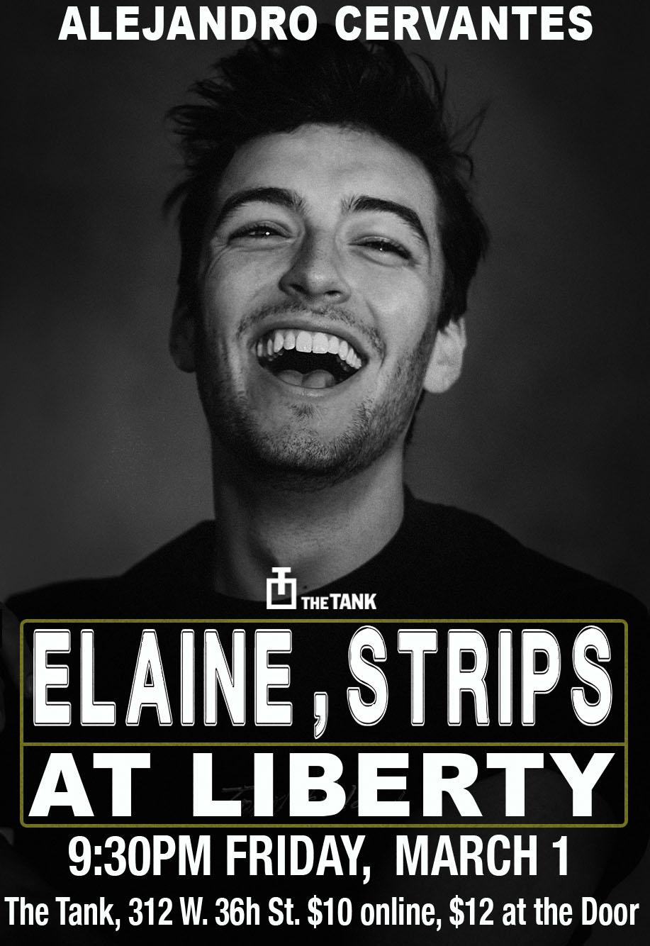 Elaine, Strips at Liberty Poster 2.jpg