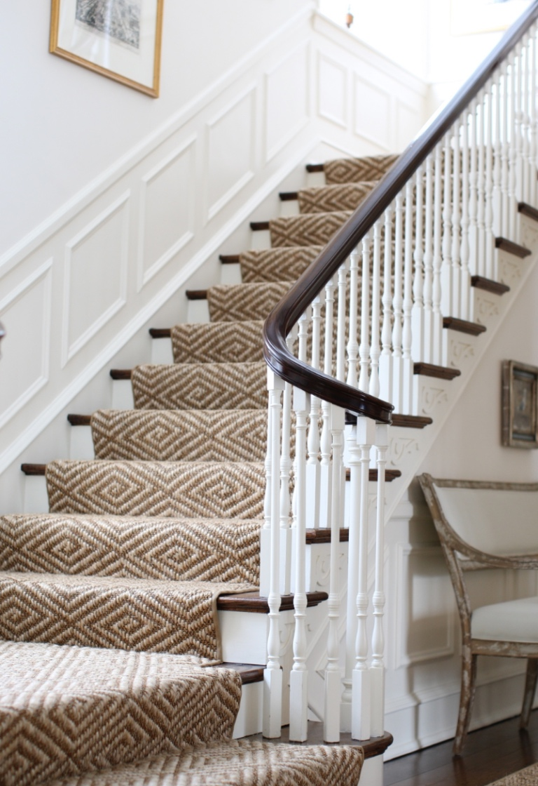 stairs:  a geometric runner (family & pet friendly)…