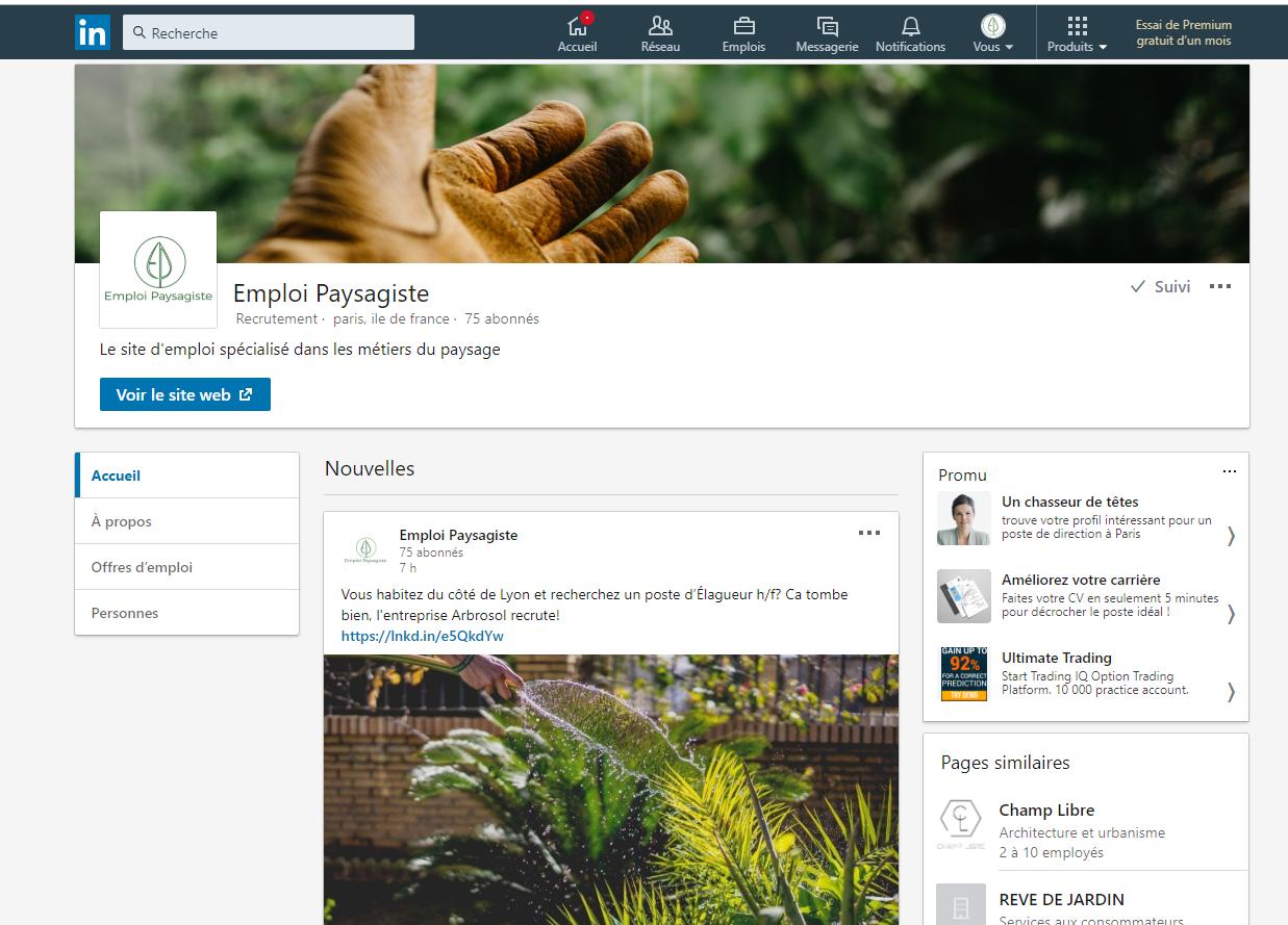 Un compte LinkedIn magique -
