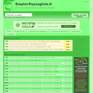 L'ancienne version du site