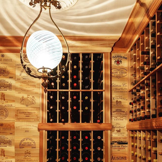 This home wine cellar is an elegant and beautiful way to showcase all of your wine bottles. 🍷🍷🍷 Architecture by: @lichtenarchitects . . . . #homewinecellar #winecellar #homewine #wineathome #wine #architecture #design #details #interiors #interiordesign  #architecturedetails #apartmentlife #kevinlichten #apartment #instaarchitecture #newyorkapartments #nyc #nycliving #archilovers #architecure #architecturalphotography  #instadesign