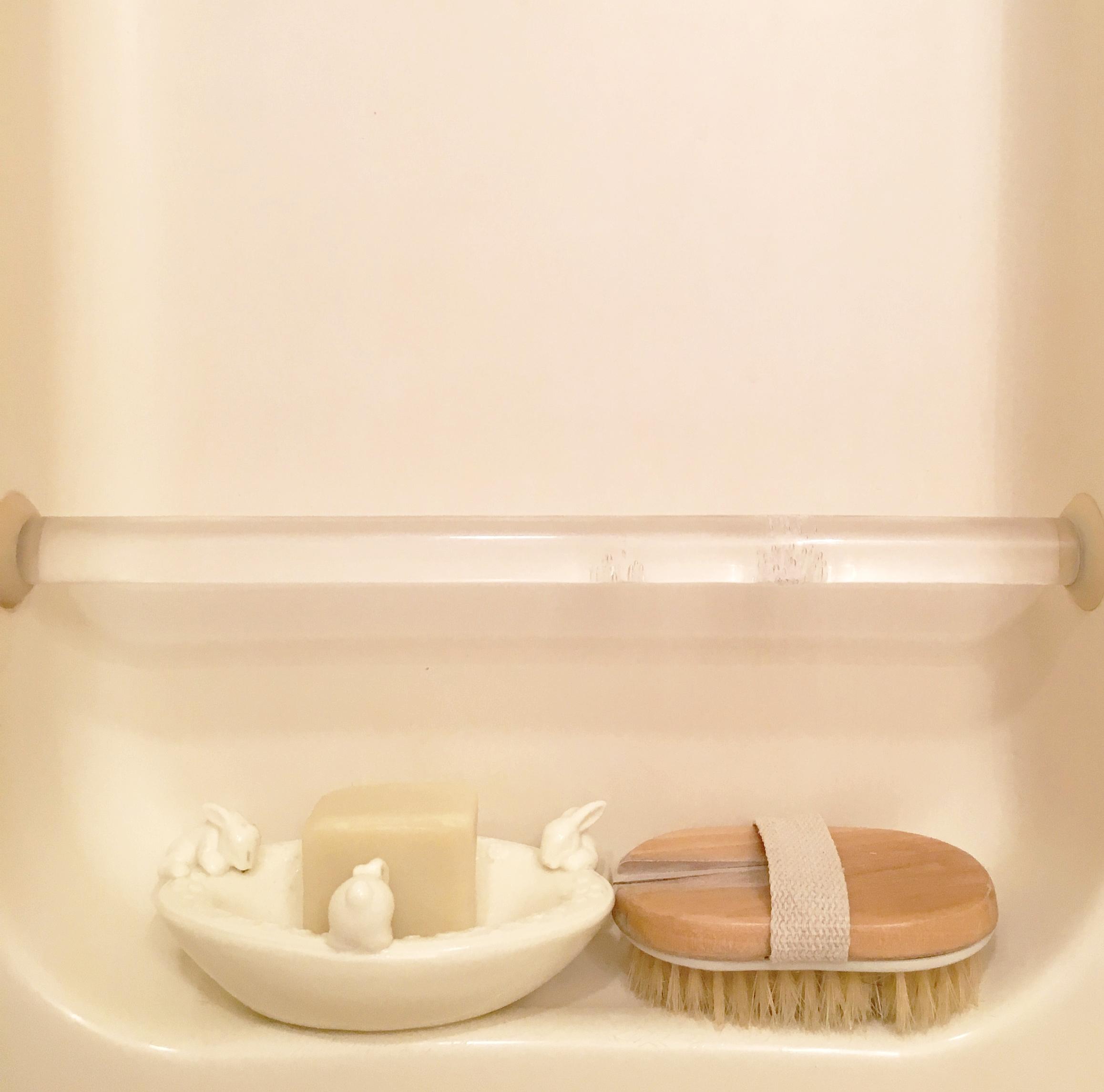 actual zero waste shower