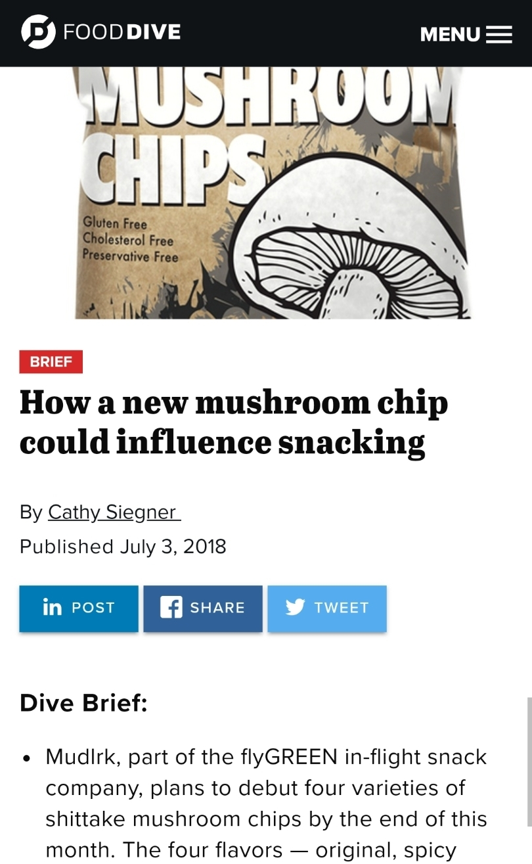 food dive mudlrk mushroom chips