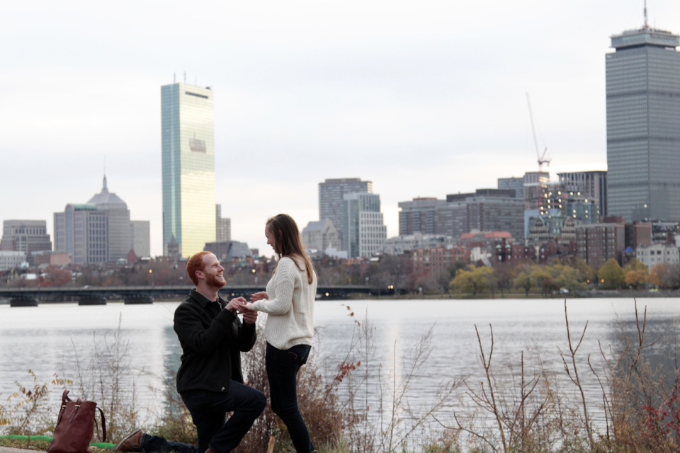 November 21, 2015: A proposed and I said 'YES!'