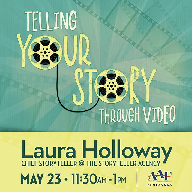 Don't miss our next Luncheon Learn event on May 23rd: Telling Your Story Through Video 🎥 presented by Laura Holloway, Chief Storyteller at @storytelleragency.  RSVP by Friday, May 17th on our website (link in bio).