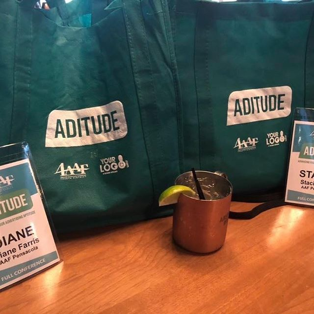Our President (Stacie Dice) and VP (Diane Farris) took on the 4th District's annual conference this past weekend in Disney Springs and reportedly had another awesome experience!  The conference theme was Aditude: Advancing your Adverting Aptitude. AAF Pensacola was represented very well...especially at the ADDY competition where @boteboards took home Best of Show!  HUGE congratulations are in order for AAF Pensacola's 2019 professional and student ADDY winners who went on to win at the 4th District's ADDY Competition.  District ADDY winners: @boteboards, @weartv, @filmsbycalliope, @embark_agency, @idgbranding, @vividbridge, @hatchmarkstudio, @pensacolastatecollege, and @connectpcc. You all give Pensacola SO MUCH to be proud of!