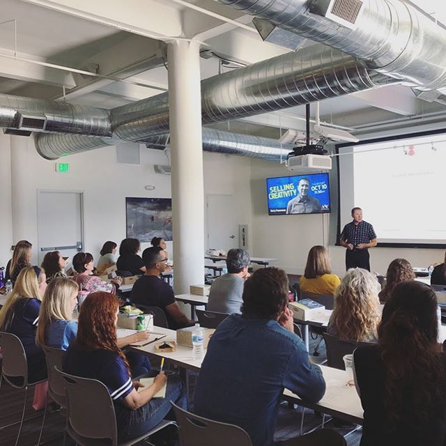 Awesome turn out for our first Speaker Series of the year: Selling Creativity with Kerry Feuerman! Thank you to everyone who joined us for this excellent presentation! Stay tuned for word on our next Speaker Series 🙌