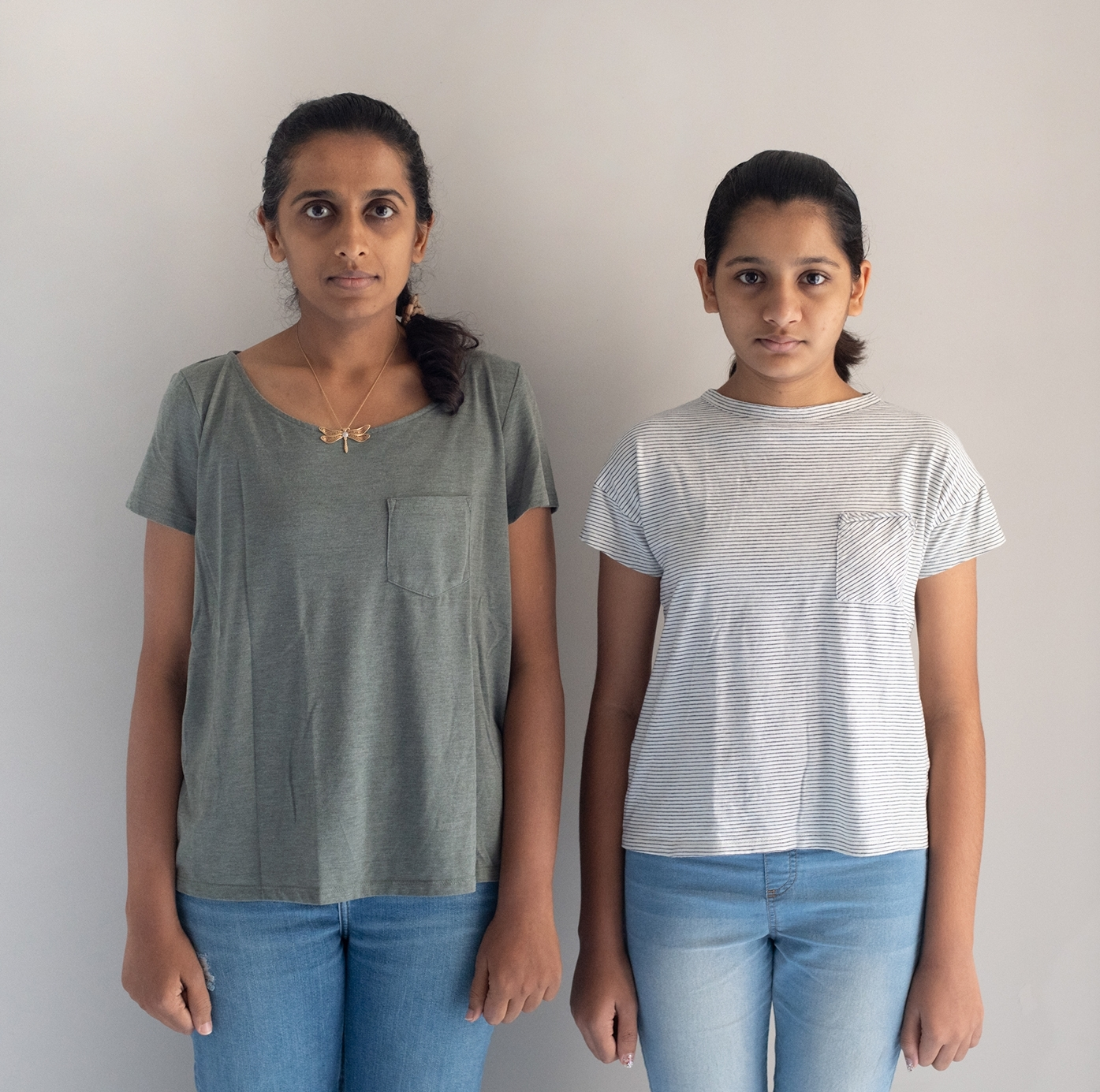 Devika and Veda / mother and daughter / India, Pune