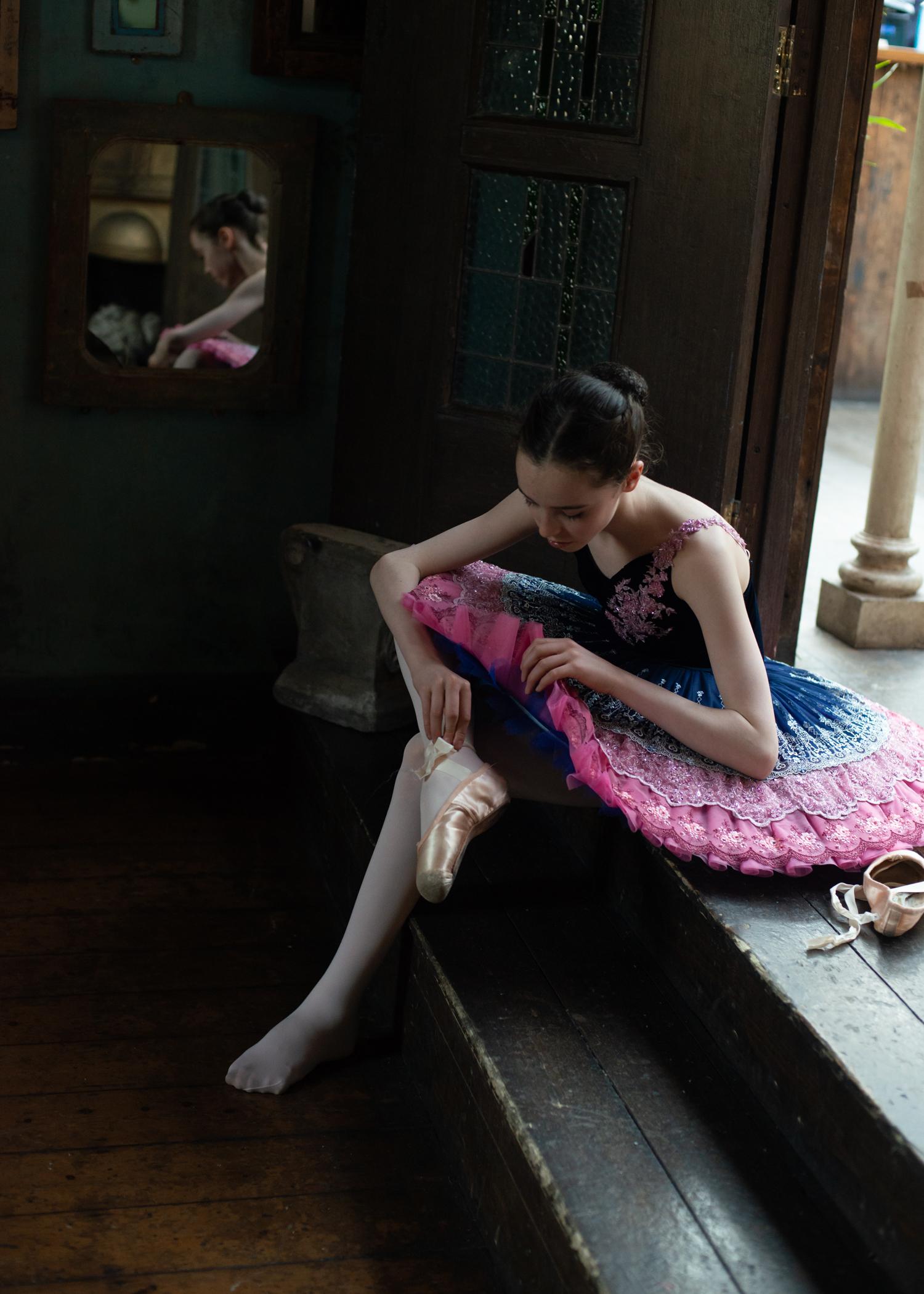 Dancer: Liberty  Tutu by Baby Bunheads  Photographer: Karolina Webb  Location : Paradise by Kensal Rise