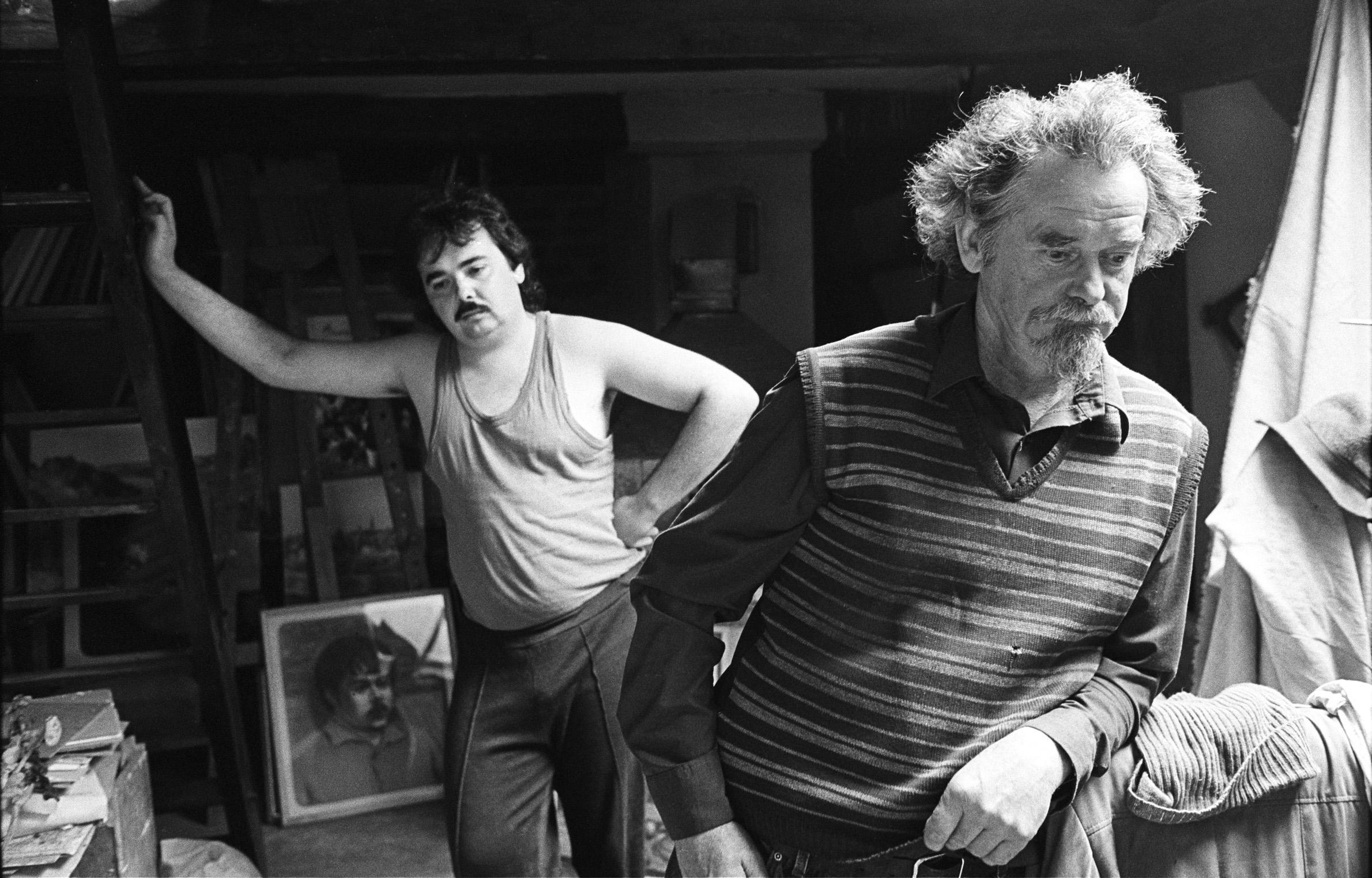 Le peintre et son fils