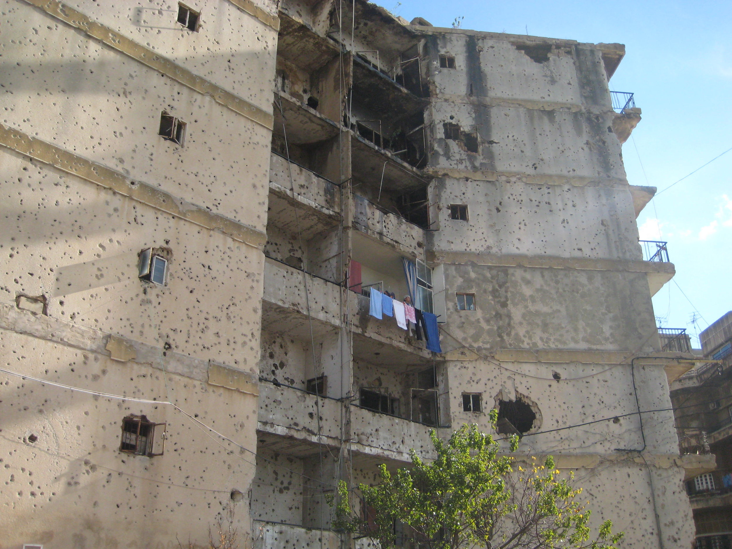 Mon voisinage à Beyrouth ( 2008)