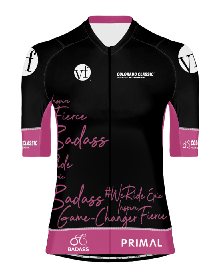 VF Corporation Most Badass Rider - This is a jury-awarded jersey that is awarded to the racer who demonstrates the following during the race:Fearlessness - Races with no fear of consequencesAggression - Takes action to the race versus being reactiveConfidence - Conducts herself with commanding attitude
