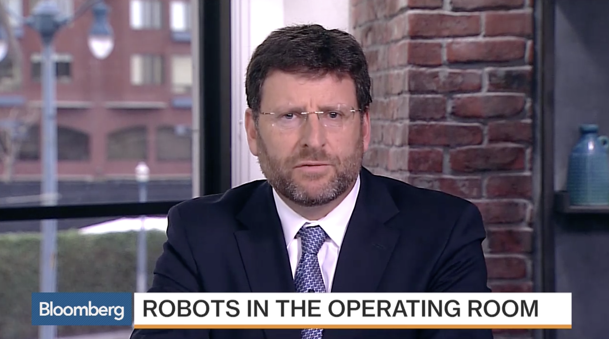Inside the future of robotic surgery - Bloomberg | January 14, 2016