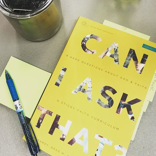This Sunday, June 9th, 12:15-1:45 we'll dive into the Can I Ask That Study with Can I Trust the Bible! Come to the Youth Building have some pizza and join us for this study on all the questions we don't always ask!